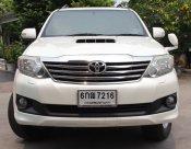 2012 Toyota Fortuner V 4WD suv มีเครดิตออกรถ1000-5000บาท