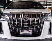 2018 Toyota ALPHARD S C-Package van ไมล์9พันโล
