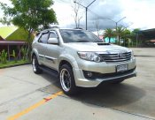 TOYOTA FORTUNER 3.0V A/T 4WD NAVI  ปี 2014