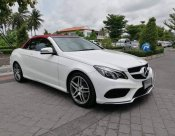 Mercedes-benz E200 AMG cabriolet blueeficiency w207 Sport Coupe ปี 2015 จด 18