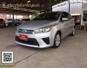 Toyota Yaris 1.2G ปี 2014 เกียร์ออโต้ สีบร๊อน
