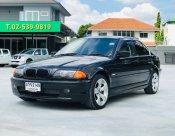 2002 BMW 323iA สีดำ E46