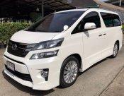 2014 Toyota VELLFIRE Anh20 ZG EDITION ไมล์แท้4หมื่นโล มิ้กกี้เม้า