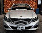2014 BENZ E200 W212 ตัวใหม่ เครื่อง 2.0 Facelift เกียร์คอ 7 Speed รถออกศูนย์ BENZ สภาพดี Warranty 1 ปี