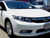 2013 Honda CIVIC EL NAVI sedan รับประกันตัวถังเดิมๆ100%
