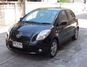 ปี06 Toyota Yaris 1.5 G สีดำ รถบ้านมือเดียวไม่แก็สเครื่องช่วงล่างแน่นขับดีพร้อมใช้