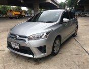ฟรีดาวน์ Toyota YARIS ECO 1.2G รุ่นTOP ปี2014 สีบรอนเงิน รถมือเดียว เอกสารพร้อมโอน