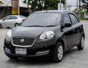 NISSAN MARCH 2014 (โฉม10-16) E Hatchback 1.2 A/T สีดํา