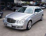ปี08 ฟรีดาวน์ Benz  E230 2.5 Avantgarde V6 W211 รถมือเดียวสวยขับดีเครื่องช่วงล่างแน่นเล่มพร้อม