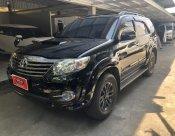 ขายรถ TOYOTA  FORTUNER 3.0V/AT 2WD ปี 2015 สีดำ