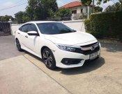 ปี2017 Honda Civic FC 1.5 Turbo สีขาว