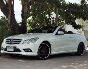 2011 Mercedes Benz E200 cgi Cabriolet W207