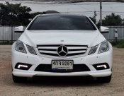 2011 Mercedes Benz E250 cgi be Coupe W207