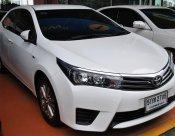2016 TOYOTA ALTIS 1.6 G auto FULLOPTION สีขาวมุก ไมล์ 63,000