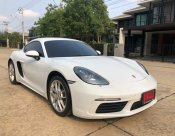 2018 Porsche 718 Cayman coupe วิ่งแค่ 6,xxx กม. รถใช้เอง ผู้ซื้อจะเป็นลำดับที่1 (warrantyเหลือถึงปี2023)