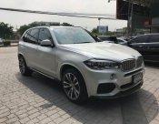 BMW X5 F15 รุ่น Xdrive 40e M-Sport โรงงาน สีขาวเบาะน้ำตาล ไมล์ 76,000 กิโลเมตร ปี 2018