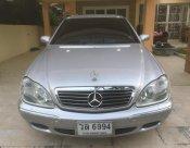 Mercedes-Benz S280 W220 2003 sedan สีบรอนซ์เงิน