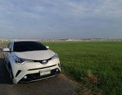 ขายดาวน์  75,000 บาท เปลี่ยนสัญญา / ขายสด ตัดยอด   880,000  Toyota CH-R  HV MID 2018