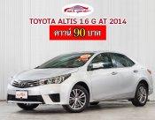 TOYOTA ALTIS 1.6 G เกียร์ AT ปี 2014