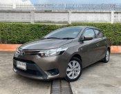 2014 Toyota VIOS 1.5 E sedan มือเดียวออกห้าง เข้าศูนย์ตลอด ไม่เคยชน ไม่เคยทำสี สภาพดีเยี่ยม การันตี👍👍