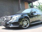Mercedes Benz E300 Blutech Hybride 2.1 AMG Dynamic ปี 2015