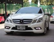 2011 Mercedes-Benz E250 AMG Dynamic coupe