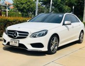 Benz W212 E300 Bluetec Hybrid AMG Package เครื่อง Diesel 2.2 Turbo + Hybrid 7Speeds ปี 2014
