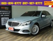 ซื้อขายรถมือสอง 2014 Mercedes-Benz E300 2.1 W212 (ปี 10-16) AMG Dynamic Blue TEC HYBRID Sedan AT