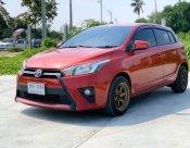 2015 Toyota YARIS 1.2 E hatchback รถมือเดียวตั้งแต่ออกห้าง  เครื่องดี เกียร์นุ่ม