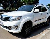 2011 Toyota Fortuner 2.7 V suv รายได้รวมเกิน 20,000 ซื้อคนเดียว ไม่ต้องค้ำ