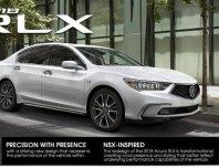 Acura เปิดตัว RLX Sedan 2018 โฉมใหม่