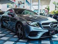 New Mercedes-Benz E200 Coupe AMG สีเทาดำ/เบาะดำ2018