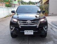 Toyota Fortuner 2.4 V ปี15 รถบ้านมือเดียวทรงสวยรุ่นนิยมขับดีออฟชั่นครบพร้อมใช้งานได้เลย