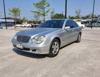 ขายรถ  Mercedes-Benz E220 CDI  (โฉม W211) Elegance Sedan AT  ปี 2003