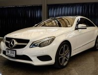 2015 Mercedes-Benz E200 coupe