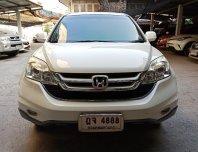 Honda CRV 2.0 E Minor Change สีขาว สวยสุด ไม่เคยชน เข้าศูนย์ตลอด
