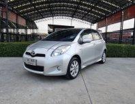 2012 Toyota YARIS 1.5 G hatchback รถบ้านผู้หญิงใช้เจ้าของเดียว ตัว Top สภาพดี