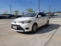 2015 Toyota VIOS 1.5 G sedan รถบ้านผู้หญิงใช้มือเดียว เครื่องยนต์ ช่วงล่างสมบูรณ์พร้อมขับ ไม่ติดแก๊ส สภาพเบาะภายในใหม่สะอาด สีเดิมๆ ไม่เคยทำสี