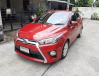 2015 Toyota YARIS 1.2 E hatchback ไมล์แท้ ไม่เคยติดแก๊ส