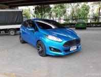 FORD FIESTA ECO BOOST 1.0 S SPORT สีฟ้า ปี 2016 รถสวยน่าใช้ ราคาขายถูก จัดไฟแนนซ์ผ่อนสบายๆ