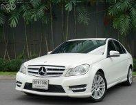 2013 Mercedes-Benz C200 CGI Avantgarde รถเก๋ง 4 ประตู