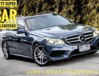 2014 Mercedes-Benz E300 BlueTEC HYBRID รถเก๋ง 5 ประตู