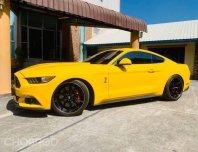 Ford mustang สีเหลืองแท้ แต่ง shelby gt ปี2017
