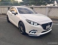 2015 Mazda 3 2.0 C Sports รถเก๋ง 5 ประตู มีเครดิตออกรถ 5,000 บาท ออกได้ทุกอาชีพ ออกได้ทุกจังหวัด