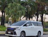 2016 Toyota VELLFIRE 2.5 Z G EDITION รถตู้/MPV