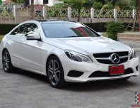 Mercedes-Benz E200 2.0 W207 ( ปี 2016 ) AMG Dynamic Coupe AT