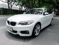 BMW Series 2 220i Coupe' M SPORT ปี 2014