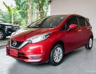 2017 NISSAN NOTE 1.2 V AT รถสวยจัด  สภาพป้ายแดง
