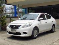รถสวย เครื่องดี ช่วงล่างแน่น มีรับประกัน 2 ปี 2013 Nissan Almera 1.2 E