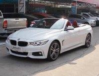 BMW 420Ci 2.0 F33 M-Sport Convertible ปี15 รถมือเดียวทรงสวยขับดีตัวรถไม่มีอุบัติเหตุออฟชั่นพร้อมใช้สุด